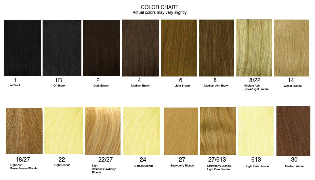 hairextensionscolorchart